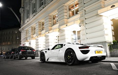 Best 918 ever (WuschelPuschel458) Tags: camera white classic cars car photoshop canon photography cool awesome automotive spyder best porsche packet carbon package coupe sportscars supercars 918 carspotting carporn weissach hypercars carphotopraphy