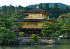 Temple of the golden pavilion, Kansai region, Kyoto, Japan (Eric Lafforgue) Tags: world trees heritage nature japan horizontal garden religious outdoors temple photography gold golden ancient scenery kyoto shrine asia day view buddhist religion scenic peaceful buddhism nobody nopeople landmark scene historic zen sacred pavilion daytime fullframe shinto idyllic kinkakuji cultural traditionalculture kinkaku tranquillity tranquilscene landscaped nonurbanscene touristdestination 0people traveldestination colourimage kansairegion colourpicture traditionallyjapanese japan161550