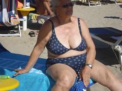 22 (teddyvial) Tags: mature bikini granny giantess