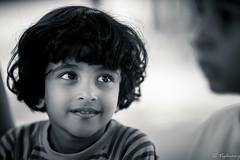 20160522-DSC_2526 (Vighnaraj Bhat) Tags: nikon d750 135mmf2dc fullframe bw bokeh blackwhite bokehlicious blackandwhite beyondbokeh monochrome girl child stuthi wonderla beautiful dof depthoffield portrait