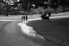Ladies and kids san francisco botanical garden (BECK17) Tags: goldengatepark blackandwhite monochrome hyperfocal candid reportage sanfranciscobotanicalgarden zf2 milvus235