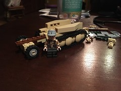Late night building (tyfighter07) Tags: brickbuilder7 wip building night late 250 sdkfz scout track half halftrack german two war world wwii lego