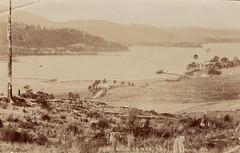 Port Cygnet, Tasmania - very early 1900s (Aussie~mobs) Tags: portcygnet tasmania vintage view australia