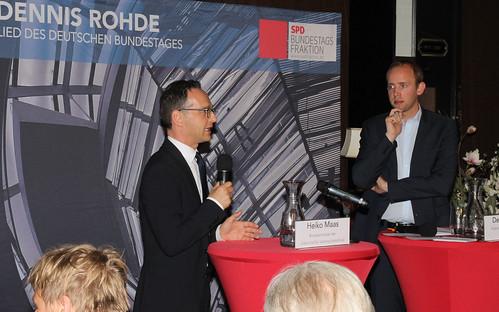 Diskussionsveranstaltung mit Bundesminister Maas vor ca. 230 Gästen.
