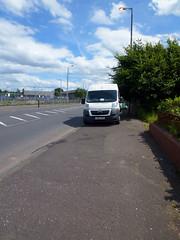 four wheels on the pavement (dddoc1965) Tags: park scotland pavement parking july eu plate reg rd 19th 2016 ferguslie blackstoun dddoc davidcameronpaisleyphotographer