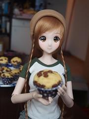 Muuuuufffiiiiiiiiiins <3 <3 (sh0pi) Tags: smart doll puppe 60 cm danny choo mirai ebony suenaga futaba muffins 2016 culture japan muffin