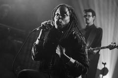 Akua Naru (KristHelheim) Tags: blackandwhite bw music woman festival 50mm blackwhite marseille concert noiretblanc live femme gig nb singer ef50mmf18ii musique chanteuse marsatac canon600d akuanaru