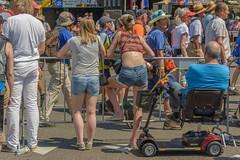 sidelined (stevefge) Tags: nederland netherlands nijmegen nederlandvandaag people candid watchers girls vierdaagse street reflectyourworld