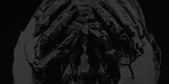 salt 1035d (s.alt) Tags: salt portrait liquid blackandwhite monochrome black background surreal texture depthoffield blackwhite bw schwarzweiss sw