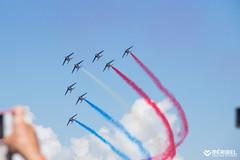 Patrouille de France_SylvainAymoz (Mribel Tourisme) Tags: france savoie tarentaise vanoise mribel air show semaine airvent bleu blanc rouge spectacle ete bonheur loisir summer montagnes moutains