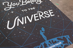 You Belong to the Universe (scottboms) Tags: prints silkscreen posters speedball arl analogresearchlab projects buckminsterfuller johnpatrickthomas designerinresidence