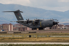 A400M, Turkish Air Force, Exercise Anatolian Eagle 2016, Konya, Turkey (harrison-green) Tags: fast jet aircraft aviation french air force take off afterburner reheat canon 700d sigma 150500mm outdoor airplane vehicle usaf united states nato radar plane awacs e3a e3 sentry anatolian eagle component konya turkey airliner a400 a400m airbus turkish cargo transport