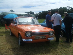 1975 Ford Escort Mexico. (Bennydorm) Tags: car cars auto autos automobile vehicle motor motorshow leightonhall ford fordmotors england lancashire escort fordescort fordescortmexico orange arancia vintage retro