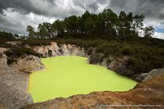 Devils Bath (David Swindler (ActionPhotoTours.com)) Tags: sulpher waiotapu newzealand northisland geothermal devilsbath rotorua