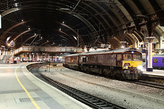 66746 1Z22 york station plt 5 08.08.2016 (Dan-Piercy) Tags: gbrf class66 66746 yorkstation plt5 1z22 alnmouth scarborough theroyalscotsman charter ecml