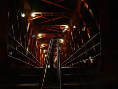 Eiffel bridge in Girona at night (jackfre 2) Tags: catalunya spain girona bridge ironbridge eiffelbridge eiffel gustaveeiffel night