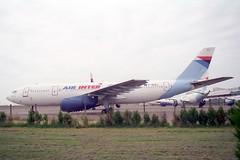 F-BUAJ Airbus A.300B2-1C Air Inter (pslg05896) Tags: chr lflx chateauroux fbuaj airbus a300 airinter