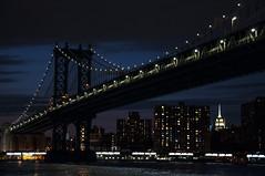 Manhattan Bridge in the night (shepalex) Tags: newyork ny nyc newyorkcity nightnewyork nightnewyorkcity    nuevoyork nuevayork    bridges bridge manhattan nightmanhattan manhattanbridge     eastriver
