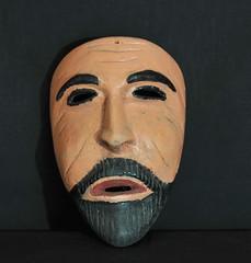 San Marco Mask Zapotec Oaxaca Mexico (Teyacapan) Tags: mexico mexican masks mascaras zapotec tavehua sanmarcos sierrajuarez dances faces wood madera