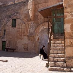 The Old City... a walk back in time. (Explored) (Beatrycze.) Tags: jerozolima israel jarusalem christianquarter oldcity prayer explore