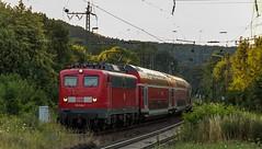 1432_2016_07_08_Baunatal_Guntershausen_DB_115_114_mit_PbZ_2475_Kassel_Hbf_-_Frankfurt_Hbf_7x_Dosto_3x_IC_Wagen (ruhrpott.sprinter) Tags: ruhrpott sprinter geutschland germany nrw ruhrgebiet gelsenkirchen lokomotive locomotives eisenbahn railroad zug train rail reisezug passenger gter cargo freight fret diesel ellok hessen inselbahnhof guntershausen bebra boxxboxxpress db cantus hebhlbahn mrcedispolok prontorail rbk sbbc spagspitzke txltxlogistik wwwdispolokcom xrail 101 114 115 146 120 51 152 155 182 185 193 427 428429 482 628928 946 makde27001251 es64u2 es64f4 pbz ic re outdoor logo graffiti natur