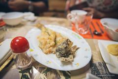 Fried Fish (reubenteo) Tags: northkorea dprk food lunch dinner steamboat kimjongun kimjongil kimilsung korea asia delicacies