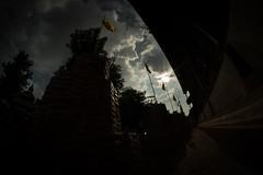 Burmese style stupa at Wat Pan Tao (Dari_Extension) Tags: temple buddhist cloudsky sillouette