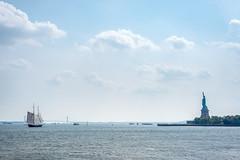Liberty (-*Marie*-) Tags: nyc new york city usa skyline
