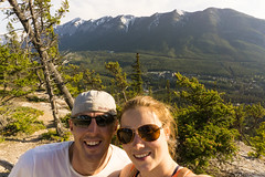 Top of Tunnel Mtn (Shane Kiely) Tags: banff canada lakeminnewanka tunnelmountain vermillionlakes