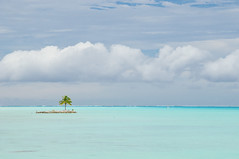 Blue on Blue! (CloudRipR) Tags: borabora beach water blue surf sky clouds island nikon d300 nikkor