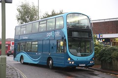 First Hampshire 37161 - HY07 FTA (Bristol MW Driver) Tags: portchester canoneos1ds firsthampshiredorset 37161 hy07fta