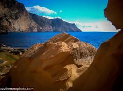 ATLANTIS Y CAP LLENTRISCA (xaviherrerophoto) Tags: hippies mar atlantis ibiza calas playas baleares mediterrneo