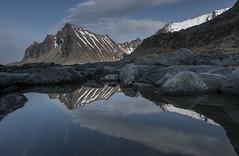 Lofoten-Vikten 01 (jerry_lake) Tags: snow reflections d750 lofotenislands vikten nikon1424mmf28 lee09ndgrad