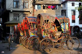 Nepali Rickshaws