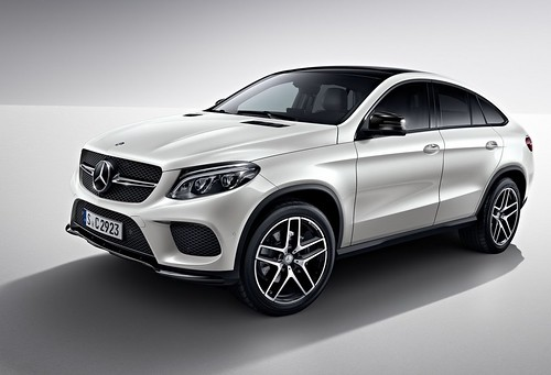 Mercedes-Benz GLE Coupe с Night Package