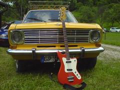 (shortscale) Tags: auto b car bass guitar opel gitarre kadett framus strato4