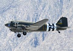 N60154 Takeoff (John W Olafson) Tags: skytrain dc3 dakota warbird gooneybird palmspringsairmuseum douglasc47 n60154 wwiitroopcarrier