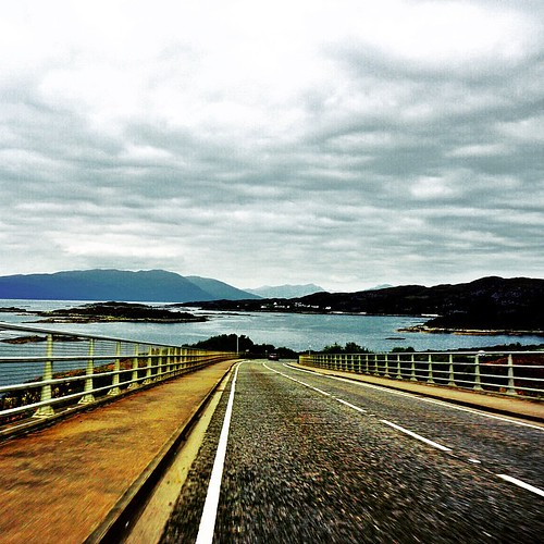 Another shot from the Highlands; returning back from Isle of Skye #scotland ; a GoPro is a must for next time
