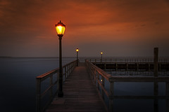 Getting Away From It All (wowography.com) Tags: longexposure sunset ny reflection night photoshop suffolk twilight dock nikon moody streetlights longisland explore cc boardwalk vignette 28300mm southshore bluepoint 2015 d610 greatsouthbay coreybeach alienskin wowography 1000favs nd10 wowographycom 2542672