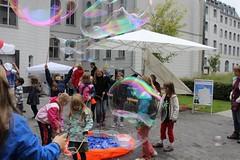 Seifenblasenfabrik Bubblebo Seifenblasenshow beim Tag der offenen Tür im Bundesministerium für Landwirtschaft 19