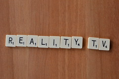 Reality TV Scrabble (jeffdjevdet) Tags: west word sussex photo worthing tv image bricks stock free east scrabble reality blocks freeimage