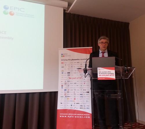 EPIC AGM 2015 speaker Gilles Le Boudec