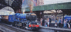 """""""Arrival at Temple Meads"""" (Puzzler4879) Tags: art pointandshoot puzzles puzzling trainstations trainart canonaseries canonphotography canonpointandshoot jigsawpuzzles bryanevans bristoltrainstation a590is canona590is canonpowershota590is powershota590is artisticpuzzles artistbryanevans arrivalattemplemeads"""