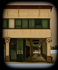 The Walkway (Nicholas Eckhart) Tags: usa abandoned retail mi america mall dead us michigan vacant pontiac stores waterford township charter shuttered 2015 summitplace deadmall