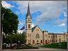 Greene Memorial United Methodist Church (Jerry Jaynes) Tags: church virginia flag roanoke va methodist unitedmethodistchurch roanokecounty nikkor1685vr greenememorialunitedmethodistchurch labordayweekend2014