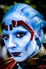 Mass Effect - Liara (Arvid Olsson) Tags: portrait people london female canon eos costume model comic cosplay may mass comiccon effect con 6d 2016 excell liara