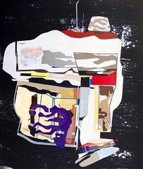 Jim Harris: Forschungsschiff III. (Jim Harris: Artist.) Tags: art geometric japan painting arte space jim peinture harris cosmos maalaus avantgarde neogeo weltraum geometrisk geometrick bostonmuseumschoolofart