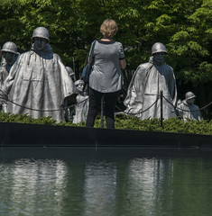 The veterans, Washington (Ian@NZFlickr) Tags: korean war memorial washington dc usa