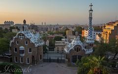 amanecer en parque Guell (joanuslo) Tags: barcelona catalunya espaa