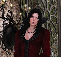 MFF - BPd - Wilmetta Gown_02 (mondi.beaumont) Tags: sl secondlife rp roleplay medieval fantasy fair 2016 fashion dress gown robe clothes clothing girl woman women lady queen elf elven black red goth gothic witch mistress vampire bpd beyondpersuasiondesign